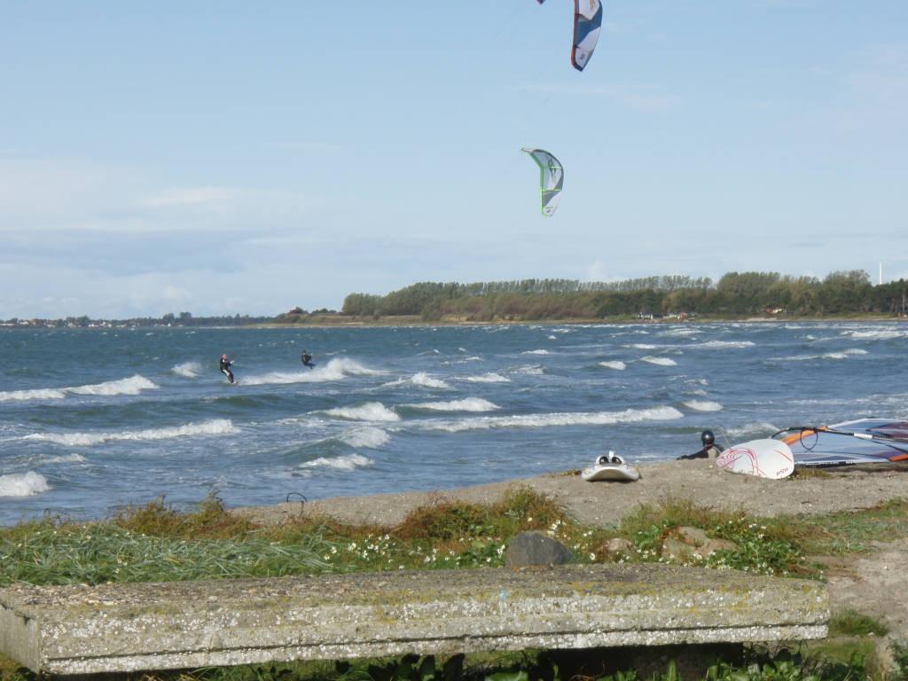 Bølger surfet med kite - Dét er livet!